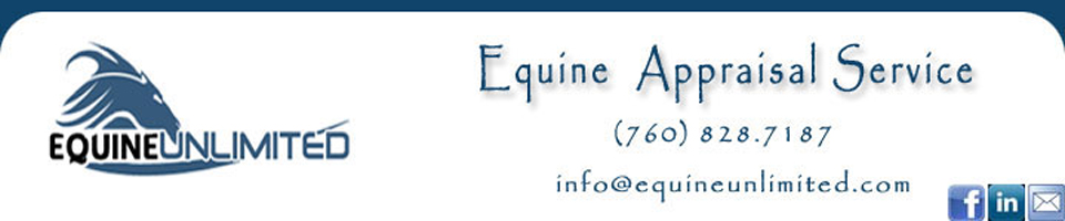 EquineUnlimited Equine Appraisal - Certified Horse Appraiser, Horse Value Expert and Equine Litigation. With our office in California, we provide professional services nationwide. All appraisals are done by a Certified ASEA Horse Appraiser. Horse value determined for litigation, insurance, sales, purchases, donation, IRS or other needs. We are the Horse Value Experts